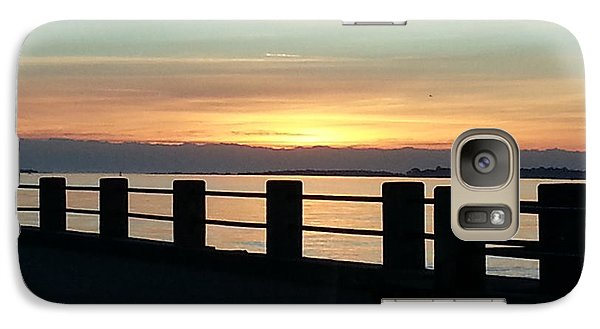 Galaxy Case featuring the photograph A Breath Of Morning Air by Joetta Beauford
