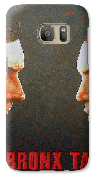 Galaxy Case featuring the painting A Bronx Tale by Dan Menta