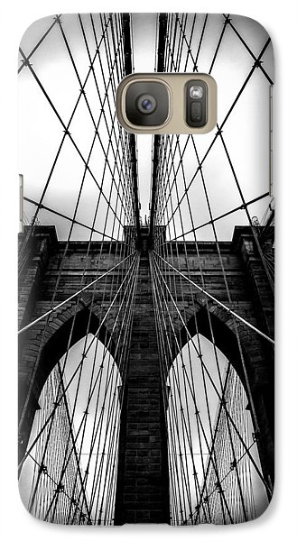 A Brooklyn Perspective Galaxy S7 Case by Az Jackson