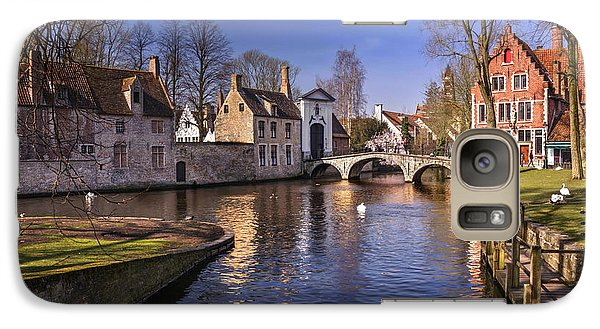 Blue Bruges Galaxy S7 Case by Carol Japp