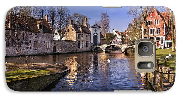 Blue Bruges Galaxy Case by Carol Japp