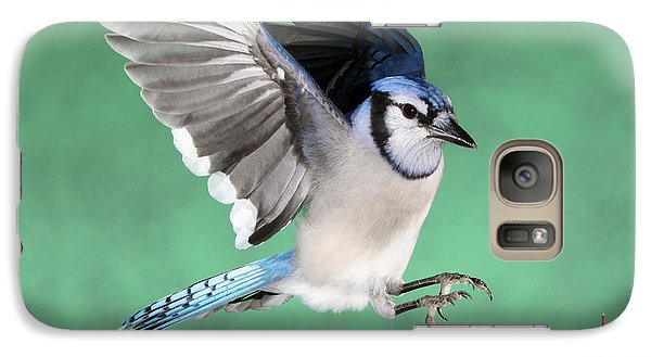 Galaxy Case featuring the photograph A Bully And An Apple Thief by Gerry Sibell