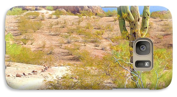 A Cactus In The Arizona Desert Galaxy S7 Case