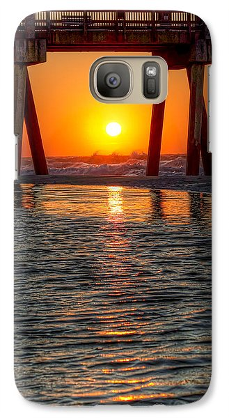 Galaxy Case featuring the photograph A Captive Sunrise by Tim Stanley