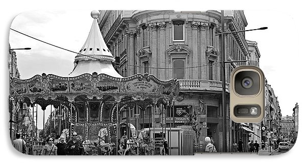 Galaxy Case featuring the photograph A Carousel by Cendrine Marrouat
