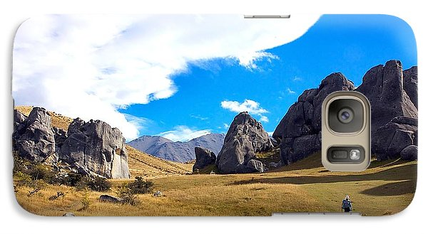 Galaxy Case featuring the photograph A Castle Hill Walk by Stuart Litoff