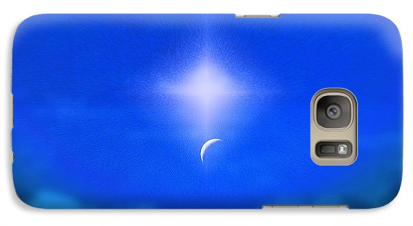 Galaxy Case featuring the photograph Beautiful New Day In The Heavens by Kellice Swaggerty