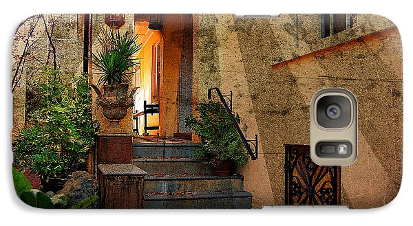 Galaxy Case featuring the photograph A Charleston Garden by Kathy Baccari