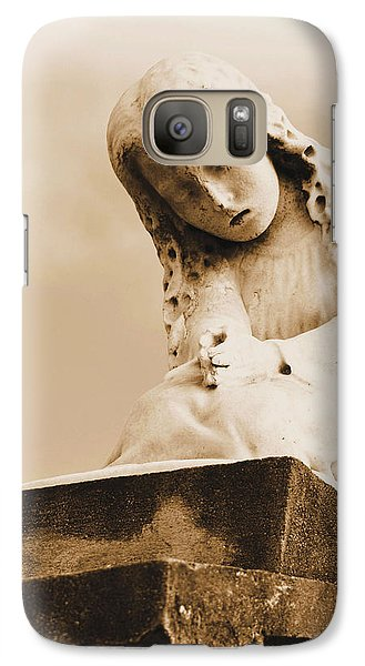 Galaxy Case featuring the photograph A Child's Prayer by Nadalyn Larsen