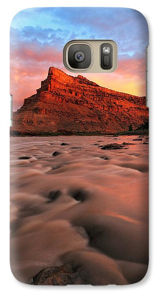 Galaxy Case featuring the photograph A Chocolate Milk River by Ronda Kimbrow