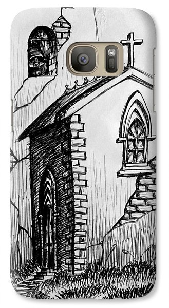 Galaxy Case featuring the painting Old Church by Salman Ravish
