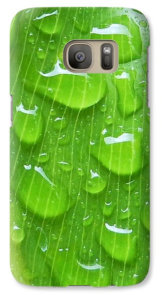 Galaxy Case featuring the photograph A Cleansing Morning Rain by Robert ONeil