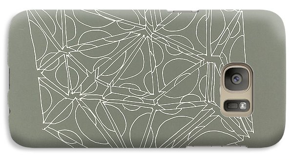 Galaxy Case featuring the drawing A Closed Case by Nancy Kane Chapman