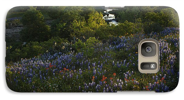 Galaxy Case featuring the photograph A Creek In Llano County  by Susan Rovira