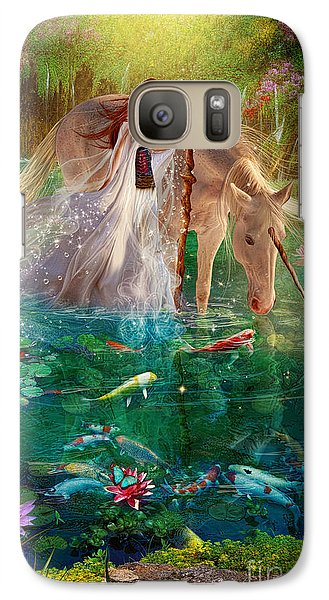 Goldfish Galaxy S7 Case - A Curious Introduction by Aimee Stewart