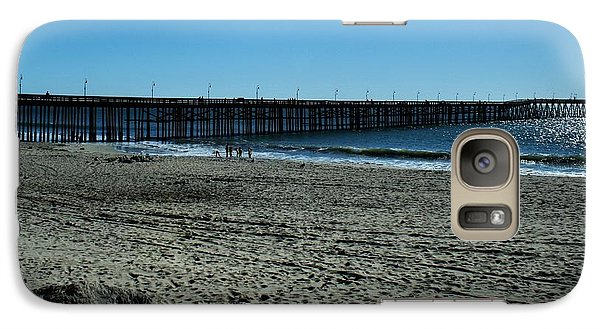 Galaxy Case featuring the photograph A Day At The Beach by Michael Gordon