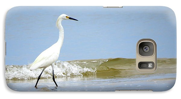 Galaxy Case featuring the photograph A Day At The Beach by Phyllis Beiser