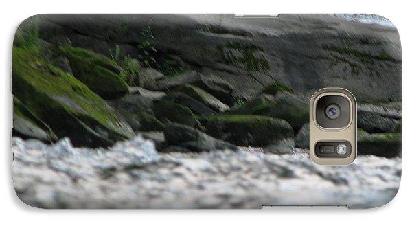 Galaxy Case featuring the photograph A Day At The River by Michael Krek