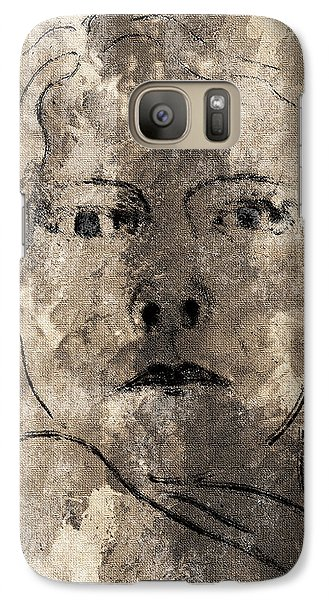 Galaxy Case featuring the digital art A Day In My Life by Shelley Bain