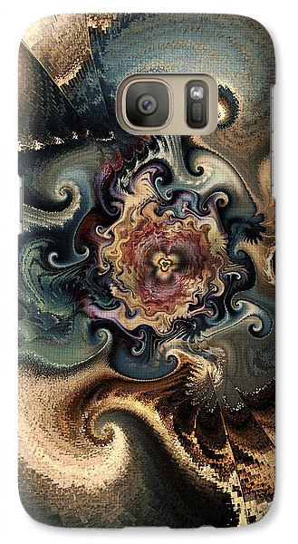 Galaxy Case featuring the digital art A Delicate Balance by Kim Redd