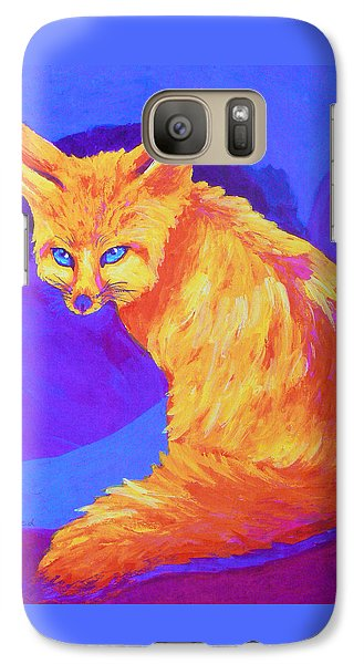 Galaxy Case featuring the painting A Desert Dweller by Margaret Saheed