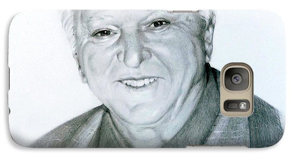Galaxy Case featuring the drawing A Distinguished Gentleman by Lori Ippolito
