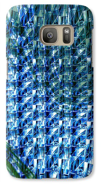 Galaxy Case featuring the photograph Digital Reflections by Kellice Swaggerty