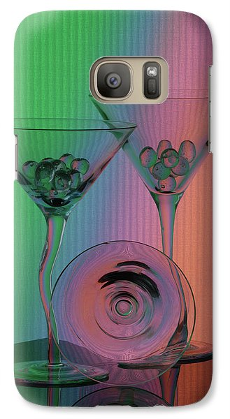 Galaxy Case featuring the photograph A Dry Martini by Mike Martin