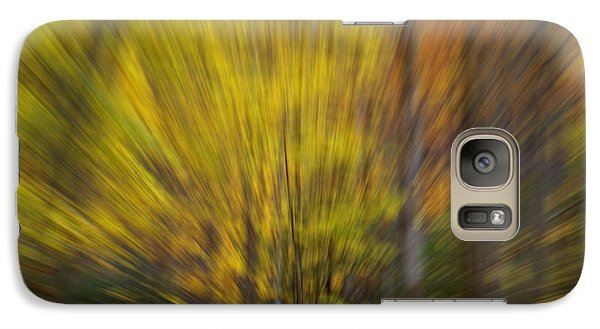 Galaxy Case featuring the photograph A Fall Stroll Taughannock by Jerry Fornarotto