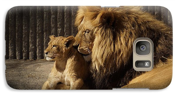 Galaxy Case featuring the photograph A Father's Love by Inge Riis McDonald