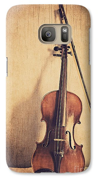 Violin Galaxy S7 Case - A Fiddle by Emily Kay