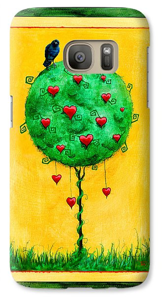 Galaxy Case featuring the mixed media A Fine Thing Indeed by Terry Webb Harshman