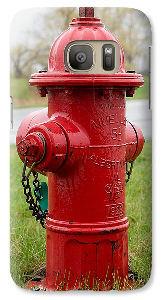 Galaxy Case featuring the photograph A Fire Hydrant by Courtney Webster