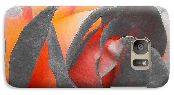Galaxy Case featuring the photograph A Fire Within by Chad and Stacey Hall