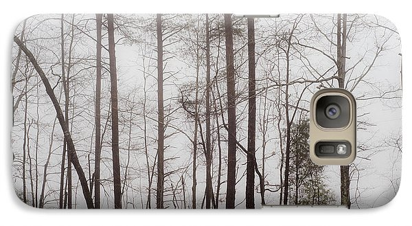 Galaxy Case featuring the photograph A Foggy Day In Virginia by Laura DAddona