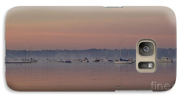 Galaxy Case featuring the photograph A Foggy Fishing Day by John Telfer