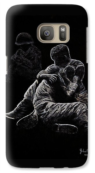 Galaxy Case featuring the painting My Friend Killed In Korean War by Bob Johnston