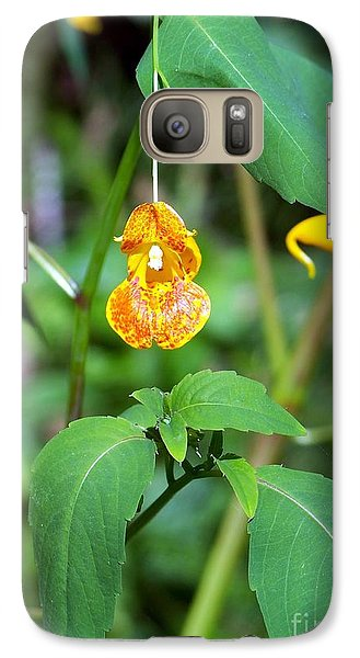 Galaxy Case featuring the photograph A Fragile Flower by Chalet Roome-Rigdon