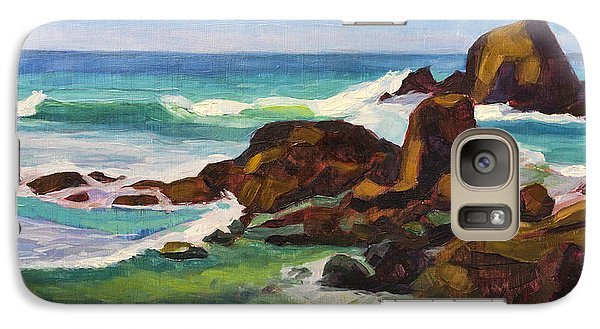 Galaxy Case featuring the painting A Frouxeira Galicia by Pablo Avanzini