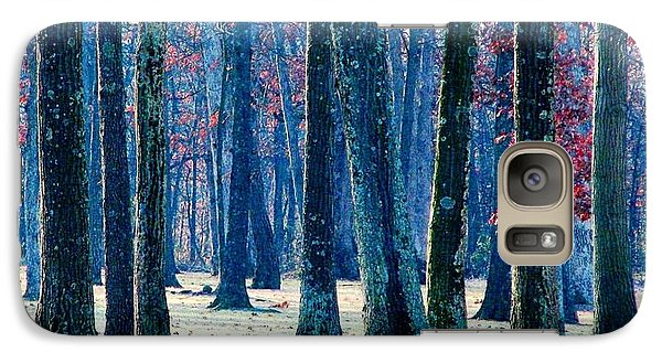 Galaxy Case featuring the photograph A Gathering Of Trees by Angela Davies