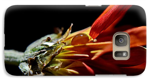 Galaxy Case featuring the photograph A Glow In The Darkness by Michelle Meenawong