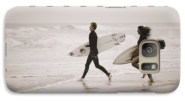 Galaxy Case featuring the photograph A Good Day To Surf by Alice Gipson