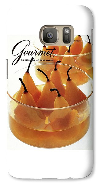 A Gourmet Cover Of Baked Pears Galaxy S7 Case