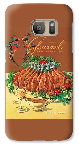 A Gourmet Cover Of Chicken Galaxy S7 Case