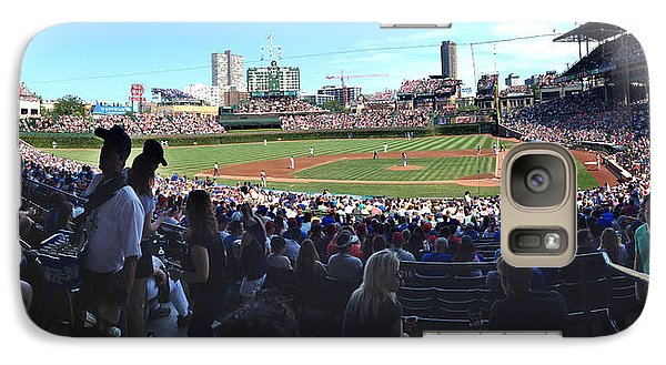 Galaxy Case featuring the photograph A Great Day At Wrigley Field by Rod Seel