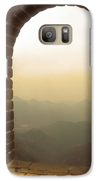 Galaxy Case featuring the photograph A Great View Of China by Nicola Nobile