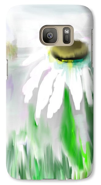 Galaxy Case featuring the painting A Hint Of Spring by Jessica Wright