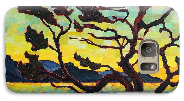 Galaxy Case featuring the painting A Hornby Summer's Eve by Janet McDonald