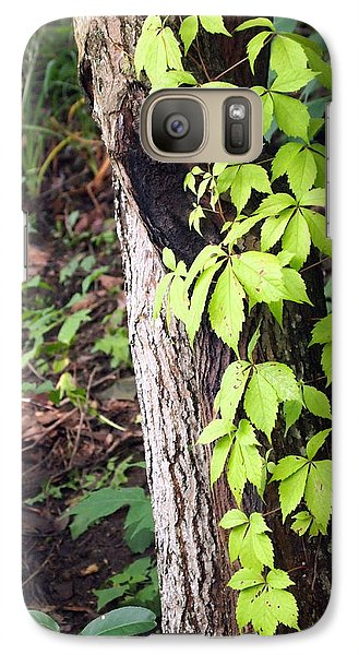 Galaxy Case featuring the photograph A Journey To The Canopy by Deborah Fay