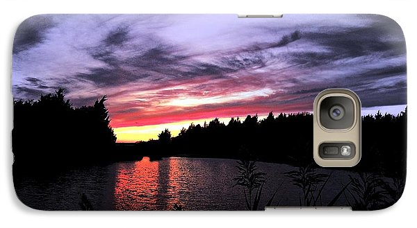 Galaxy Case featuring the photograph A Kind Of Hush by Allen Beilschmidt